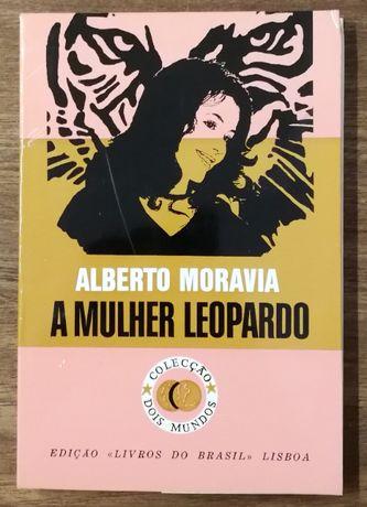 a mulher leopardo, alberto moravia, livros do brasil