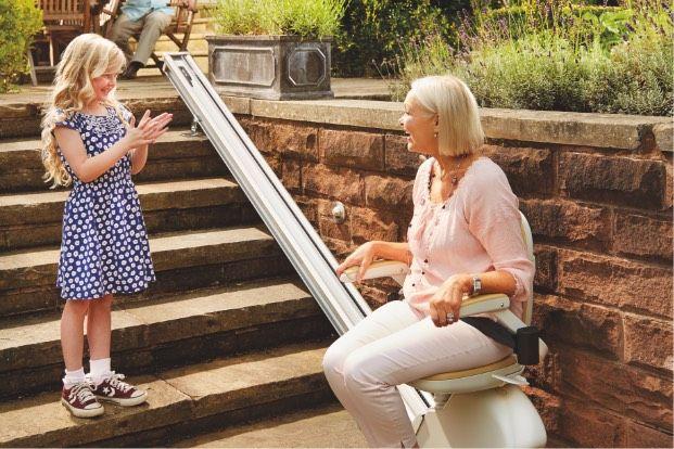 Cadeiras Elevadores para Escadas - ANJO
