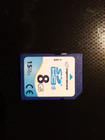 Karta SD HC 8 GB