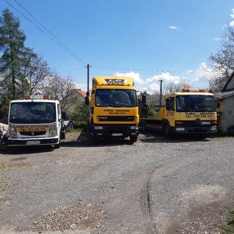 Laweta Pomoc Drogowa Transport Koparki Traktory Maszyny Rolnicze