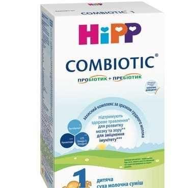 смесь ХИПП - combiotic ( 150гр) - 2 пачки X 90грн ( срок - отличный).
