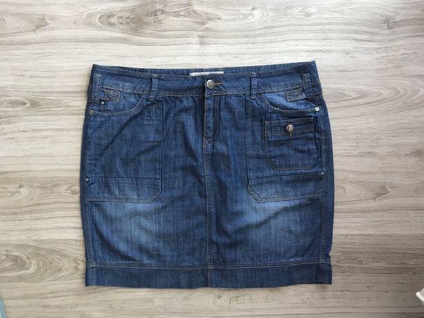 Юбка джинсовая батал на XXL-XXXL