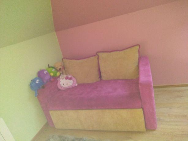 kanapa dla dziewczynki rozkladana