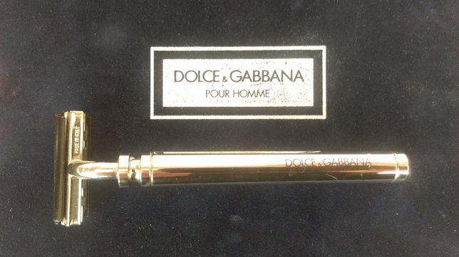 Бритвенный станок Dolce&Gabbana для настоящих мужчин.Made in Italy.