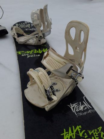 Deska snowboardowa RAVEN wiązania buty