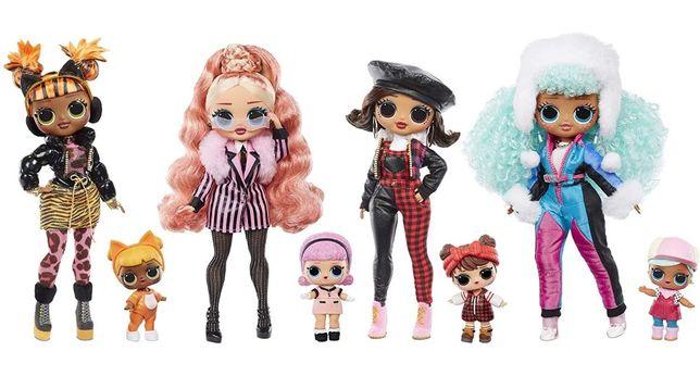 LOL Surprise OMG Winter Chill Куклы Ледяная леди 570264 Леди-стайл