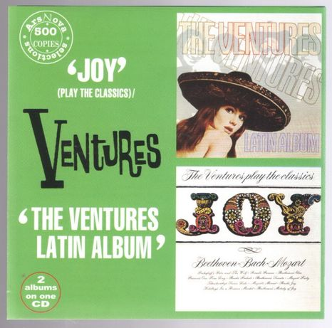 "CD The Ventures ""Joy""/""Latin ALbum"", пр-во Россия, 1999 год"