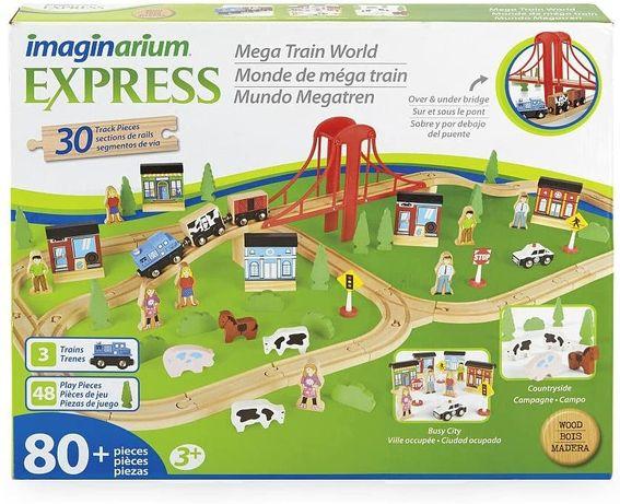 Деревянная ЖД imaginarium express