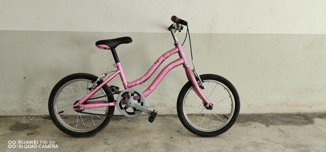 Bicicleta de menina roda 16