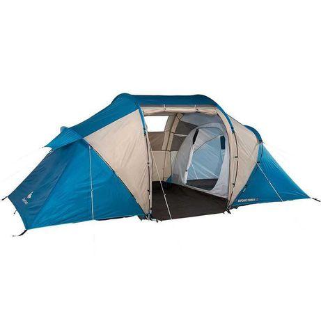 Палатка дуговая для кемпинга 4-местная 2-комнатная Arpenaz 4.2