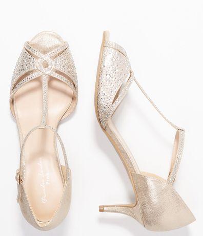 Sandałki ślubne