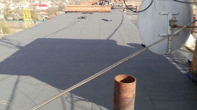 Ремонт крыш(даху),мягкая кровля(любая)рубероидом. Полтава и др области