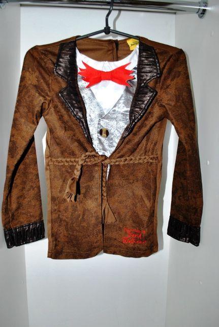 Пиджак коричневый карнавальный 9-10 лет рост 135-140 см Германия сток