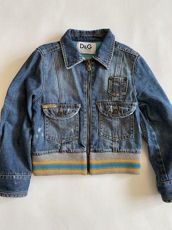 Джинсовая куртка Dolce Gabbana оригинал