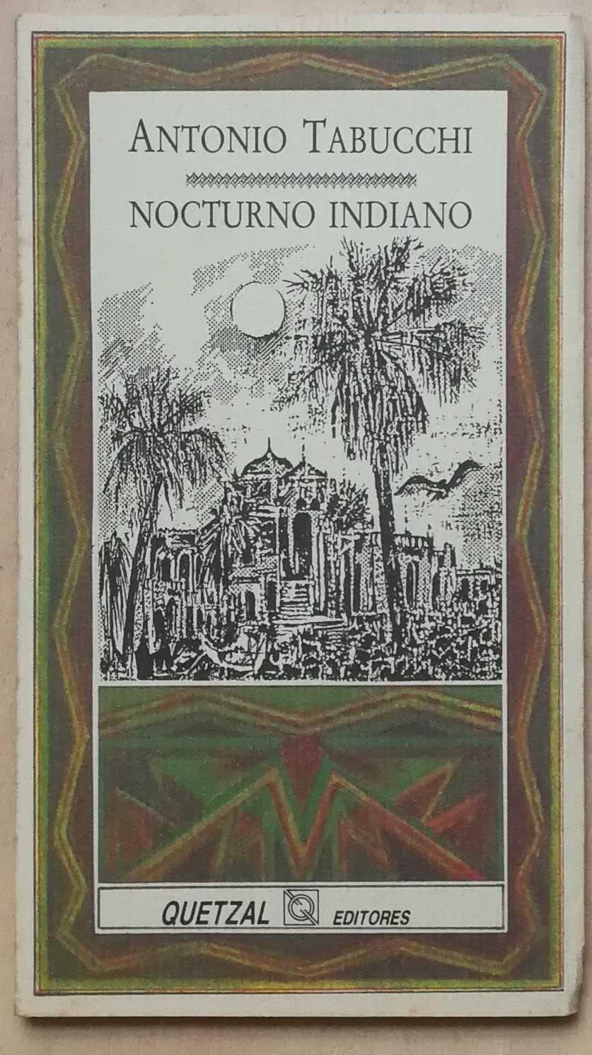 nocturno indiano, antonio tabucchi, quetzal editores