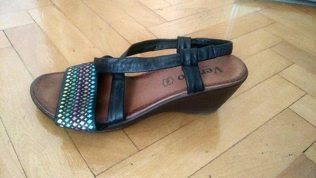Buty sandałki VERANO 39 rozm. skóra