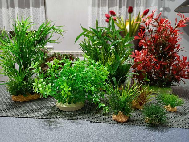 Roślinki akwariowe sztuczne