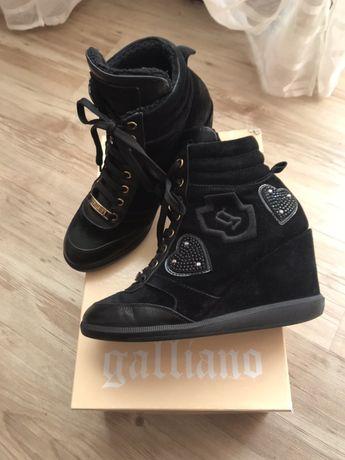 John Galliano сникерсы, ботинки, кеды