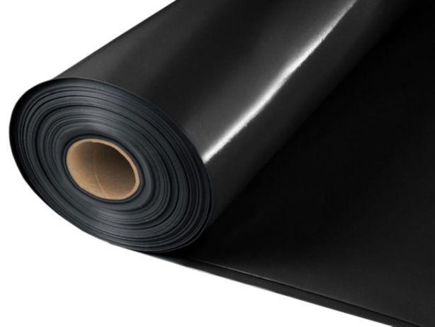 Folia czarna budowlana ochronna TYP 200 5x20 Folie Czarne Budowlane