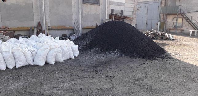 Уголь каменный, фракция40-80ДроваТвёрдыеПороды