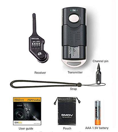 Bezprzewodowy profesjonalny shutter release dla systemu DSLR Nikon
