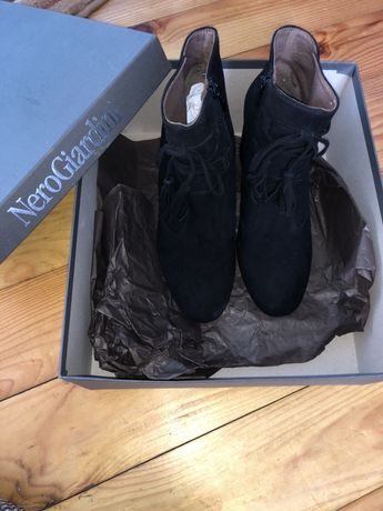 Взуття Nero Giardini черевички натуральна замша шкіра в середині !New!