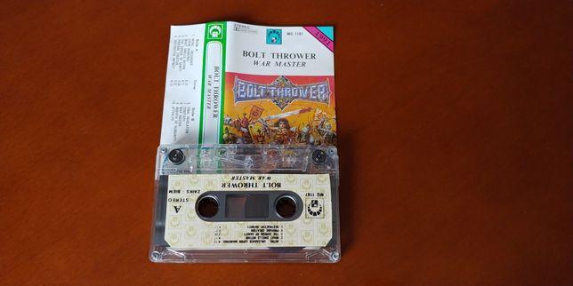 BOLT THROWER - WAR MASTER kaseta magnetofonowa