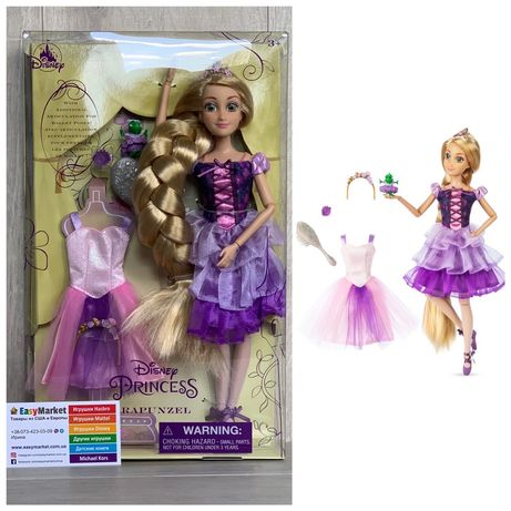 Шарнирная кукла Дисней Балет Рапунцель балерина Disney Ballet Rapunzel