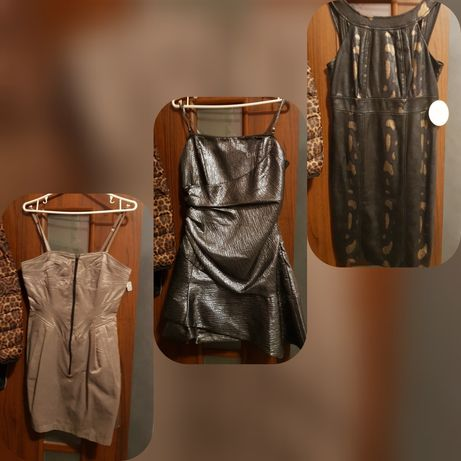 3 śliczne eleganckie sukienki m/l nowe