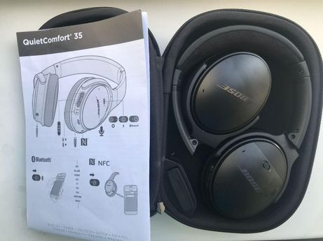 Наушники Bose QuietComfort 35 Noise Cancelling Black