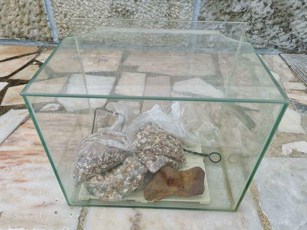 Aquário em vidro