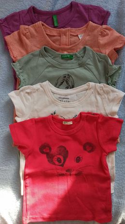Zestaw bluzeczki, koszulki rozmiar 74, bluzeczka, koszulka