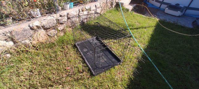 Jaula mais gaiola para cão ou gato
