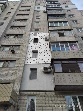 Утепление фасадов,высотные работы
