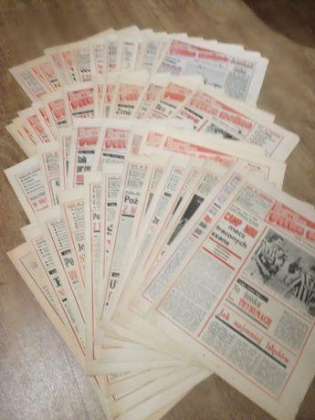 Tygodnik, dla kolekcjonerów , piłka nożna, gazety