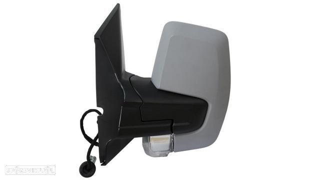 Espelho Esquerdo Eletrico Asferico Termico P/ Pintar C/ Pisca Ford Tou