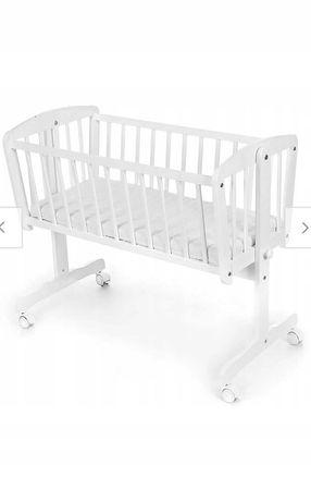 Kołyska niemowlęca biała 90x40 nieużywana