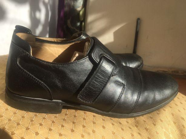 Туфли кожаные Dalton, 33 - 34 размер, стелька 22 см