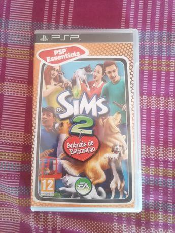 Jogo Sims 2 animais de estimação psp