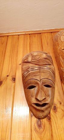 Maski, Maska Drewniana