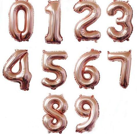 Цифра шар 80см (шарики,декор, фотозона,кенди бар)
