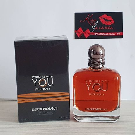 GIORGIO ARMANI Stronger With You Intensely - Оригинал 100 ml - Армани