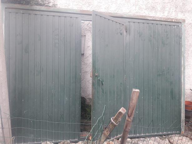 Portão de ferro vasculante