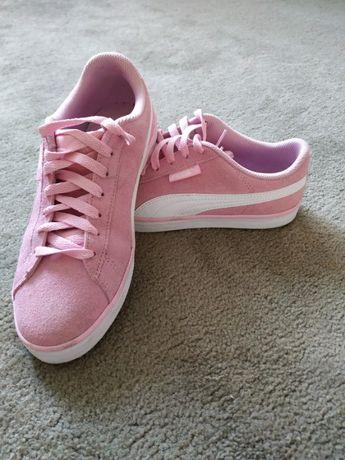 Różowe buty pumy damskie rozmiar 38