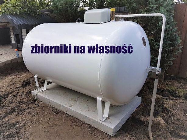 Zbiornik na gaz płynny propan 2700, 4850, montaż, zbiornik gazowy lpg