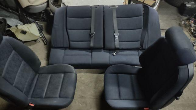 BMW E36 coupe fotele kanapa wnętrze tapicerka