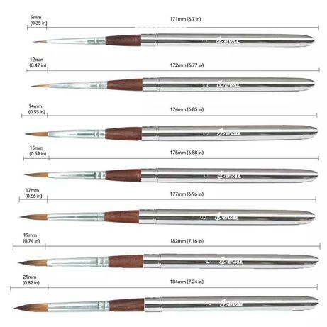 Набір пензликів для малювання. Кисти для рисования