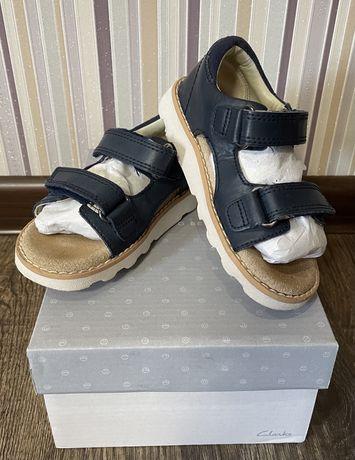 Босоножки Кларкс Clarks кожа сандали