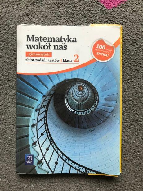 Matematyka wokół nas gimnazjum klasa 2 WSiP zbiór zadań