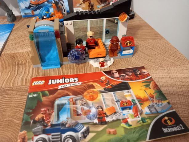 Klocki Lego City 60190 i Wielka ucieczka z domu 10761